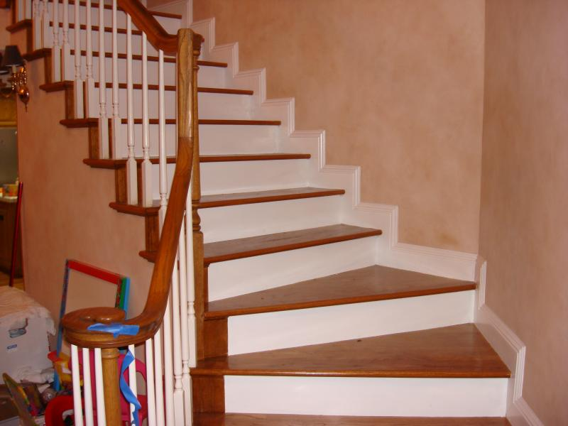 Marvelous Hardwood Flooring On Stairs Pictures ... Installing Laminate  Flooring On Stairs Diy Hardwood
